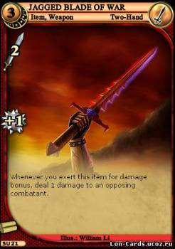Jagged Blade Of War