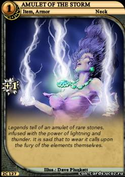 Amulet of the Storm